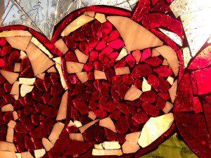Pomegrante heart